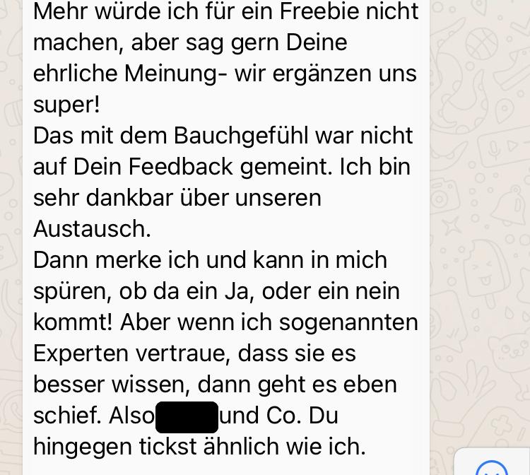 Kundenfeedback