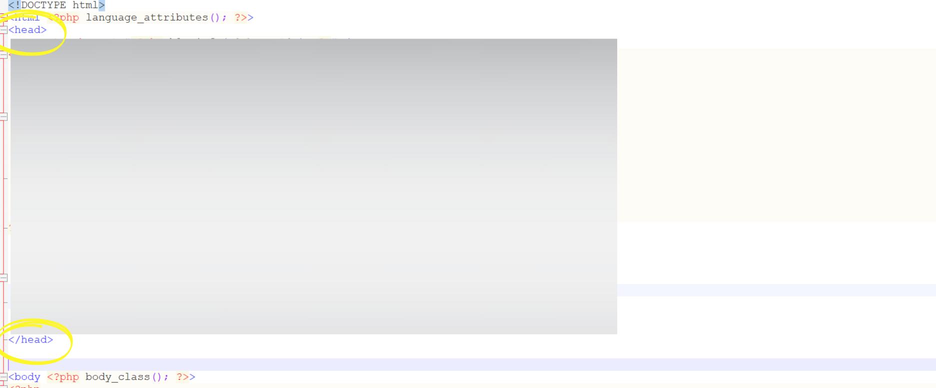 Wordpress header.php bearbeiten